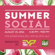 Vest Pocket - Local First Summer Social