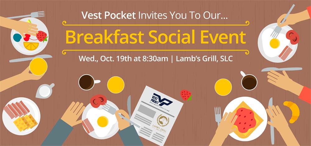 Breakfast Social Event