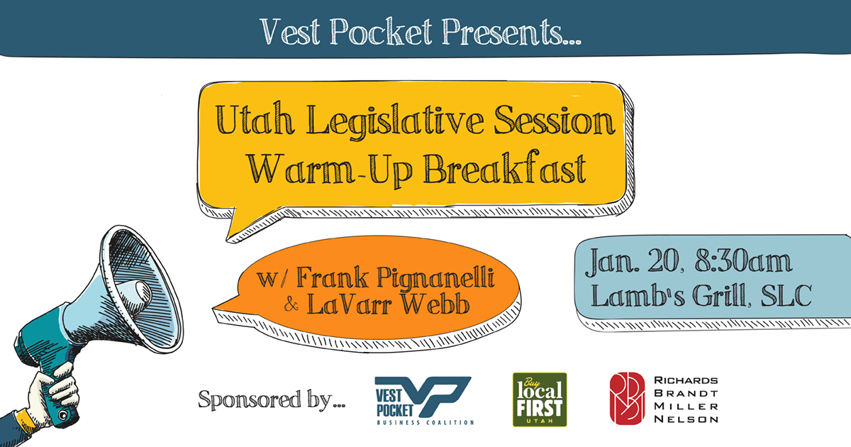 Utah Legislative Session Warm-Up Breakfast