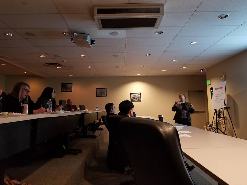 Rena Ferguson, Vest Pocket Education Chair