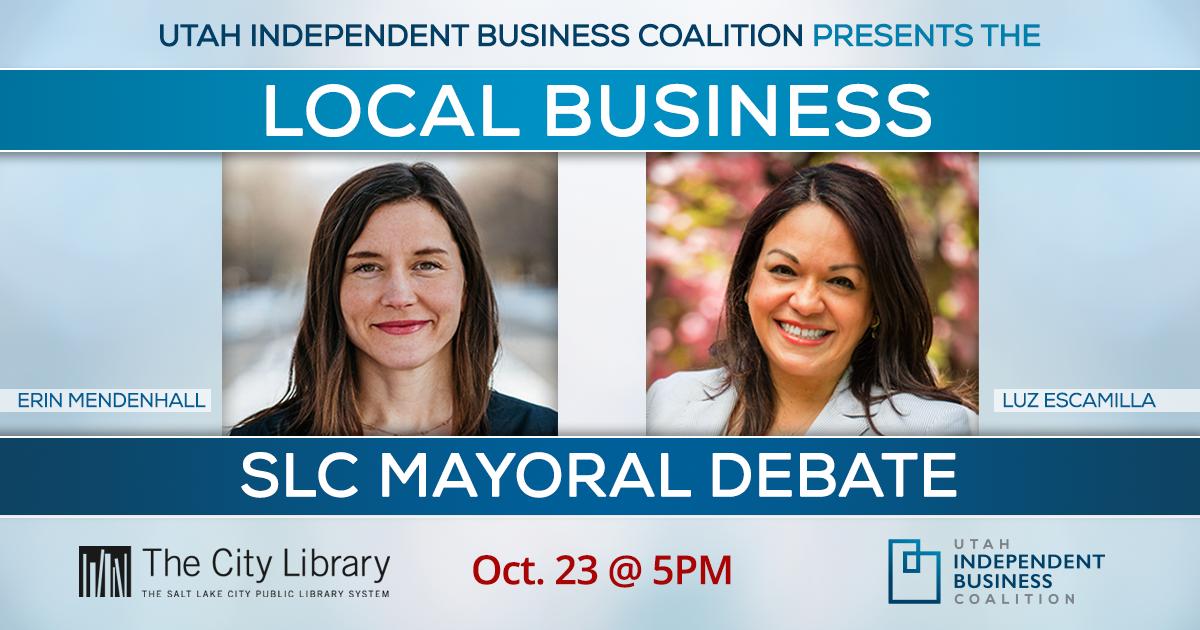 Local Business Salt Lake City Mayoral Debate